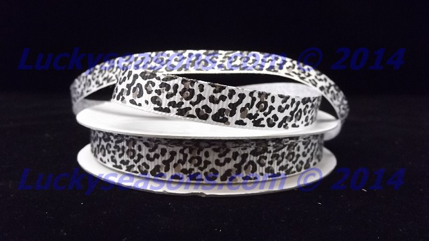 "3/8"" Grosgrain Jaguar Ribbon (25 yrds)"