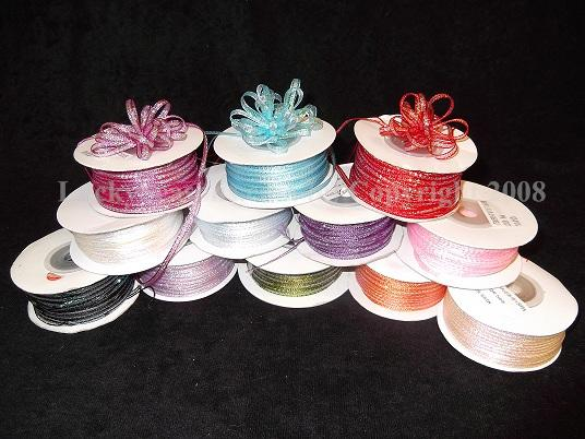 "1/8"" Iridescent Pull Ribbon"