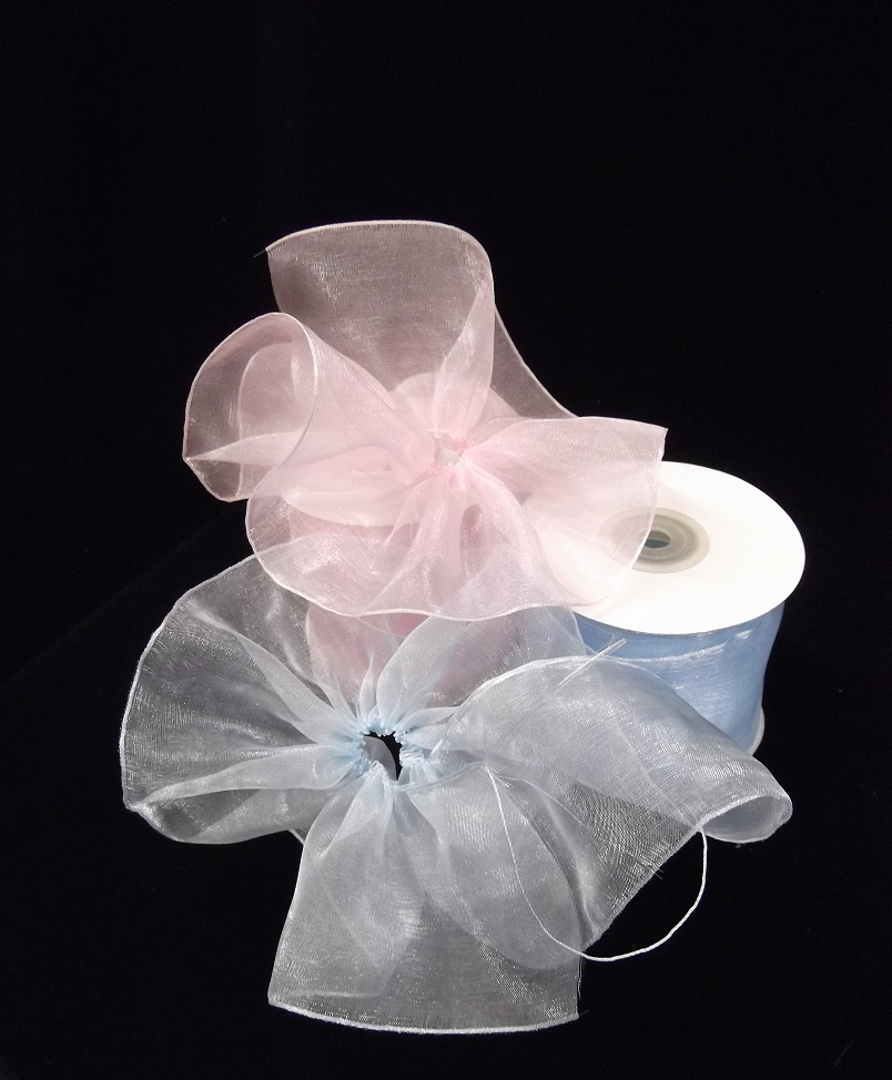 "2 3/4"" Organza Pull Ribbon 25 yards"