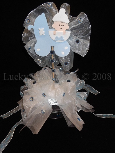 Decorative Baby Shower Centerpiece/Favor