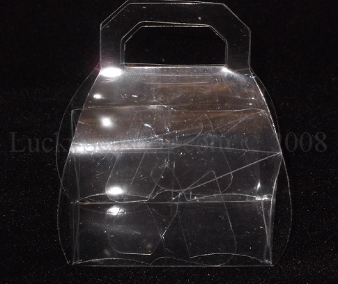 "2.75"" Clear PVC Purse Favor"