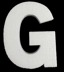 "4"" Letter-G - Click Image to Close"