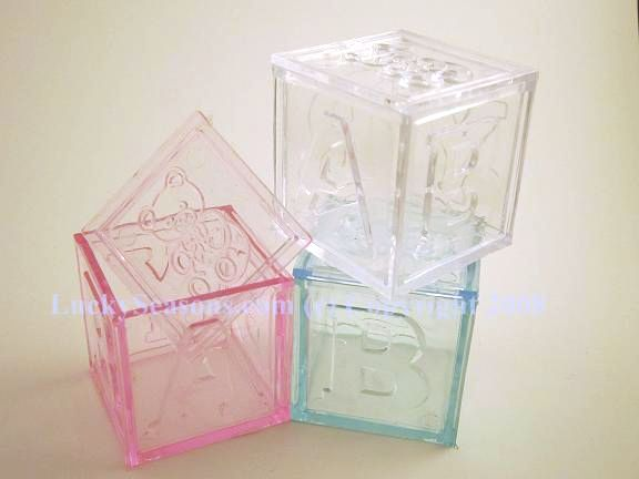 "2"" plastic baby blocks"
