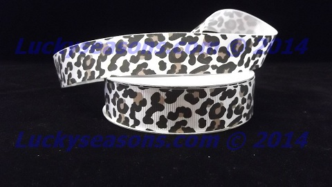 "7/8"" Grosgrain Jaguar Ribbon (25 yrds)"