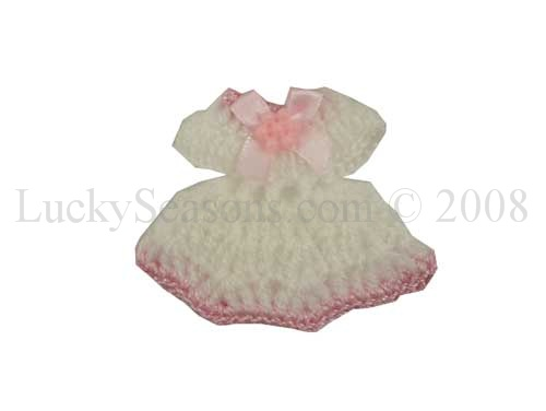 "2.25"" Baby Shower Knit- Two-Tone Dress"