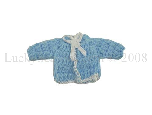 "3.25"" Baby Shower Knit - One Tone Sweater"
